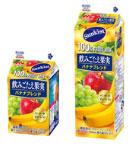 サンキスト 100%フルーツミックス 飲みごたえ果実 バナナブレンド