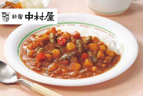 新宿中村屋 プチカレー彩り野菜と豆